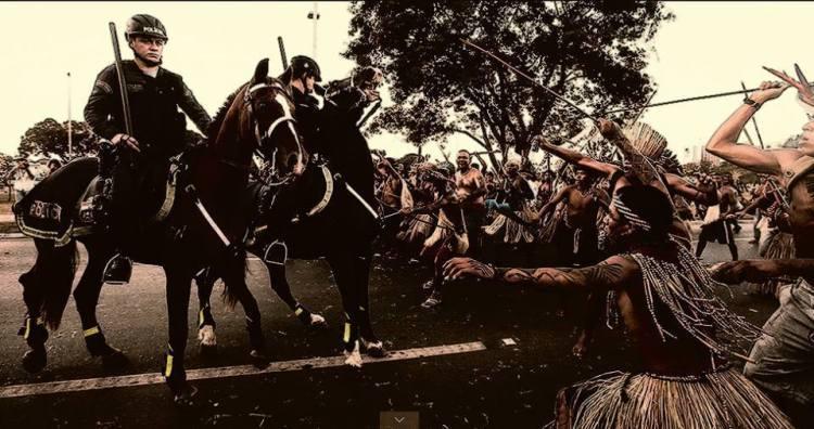 Índios: terroristas sabotando o projeto Brasil no mínimo desde as Guerras Guaraníticas