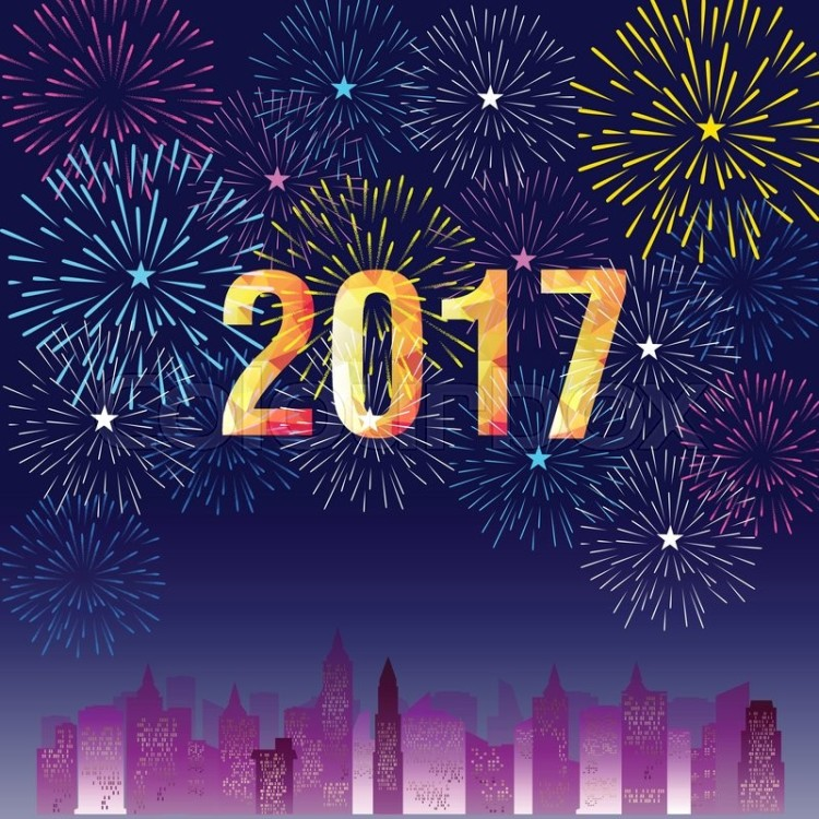 19663141-happy-new-year-2017-with-fireworks-background